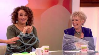 Nadia Is Tied Up And Gloria Is In Bubble Wrap | Loose Women