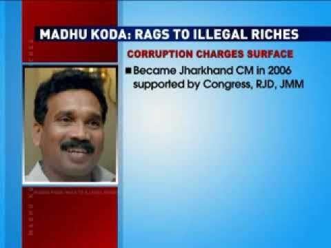 Madhu Koda: Rags to illegal riches