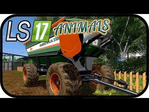 LS17 ANIMALS - Fast alles Maschinen sind Arbeiten! #145 - LS17 NORDFRIESISCHER MARSCH 4 FACH