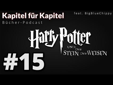 """Bücher-Podcast """"Kapitel für Kapitel"""" - Harry Potter und der Stein der Weisen # 15"""