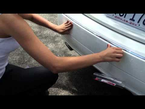 how to remove clear tape from car paint
