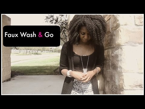 Fall Faux Wash and Go