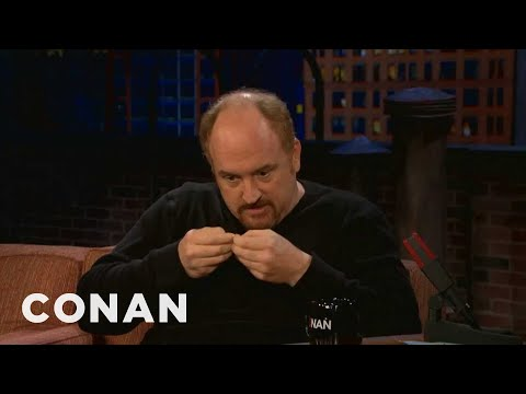 Louis C.K. Hates Twitter - Conan on TBS