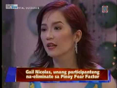 """Gail of Pinoy Fear Factor interview in """"The Buzz"""""""