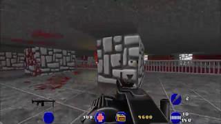 Brutal Wolfenstein 3D (5.0) - Gameplay Footage