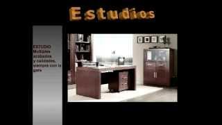 Muebles estudio | mesas estudio | mesas ordenador