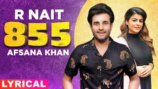 855 (Lyrical) | R Nait | Afsana Khan | The Kidd | Latest Punjabi Songs 2020 | Speed Records