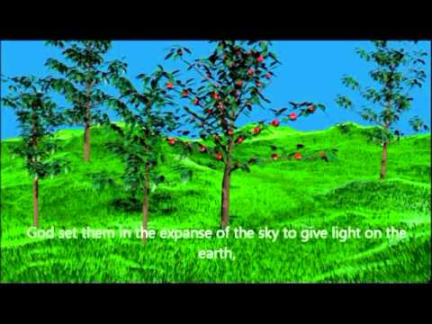 Bible Animation 1 6 Days Of Creation Youtube