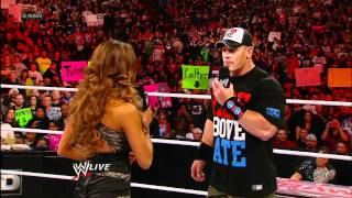 Raw: Eve begs for forgiveness from John Cena