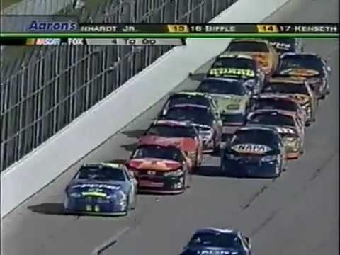 Jeff Gordon Career Win #72 2005 Aaron's 499 At Talledega Finish