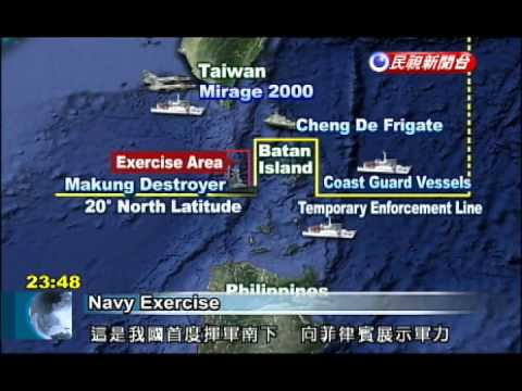 Taiwan holds naval exercise near Batan Islands to send message to Philippines