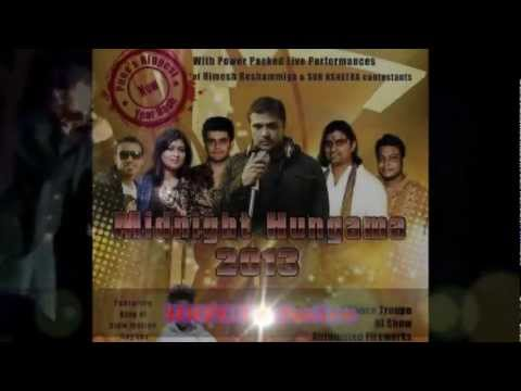 Himesh Reshammiya On 31st December, 2012 [mignight Hungama 2013] Hrfc Exclusive.mp4 video