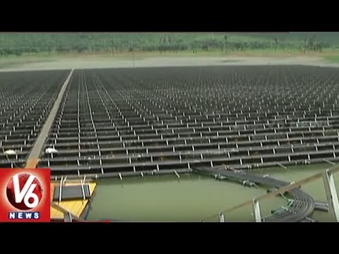 Specialities Of India's Largest Floating Solar Power Plant | Visakhapatnam | V6 News