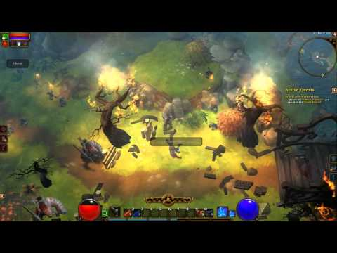 Torchlight II Beta Gameplay (Outlander)