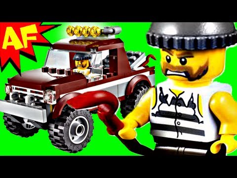 POLICE PURSUIT Lego City Set 4437 Animated Building Review