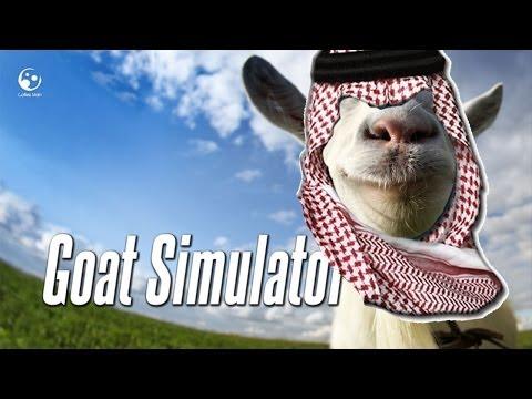 تيس مان | تحشيش قوت سميوليتر شهر العسل  | goat simulator funny moment