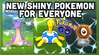 SHINY LAPRAS, SHUCKLE & MELTAN FOR EVERYONE IN POKEMON GO   NIGHTMARE CUP BATTLES