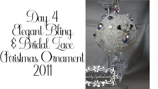 Day 4 of 10 Days of Christmas Ornaments with Cynthialoowho♥