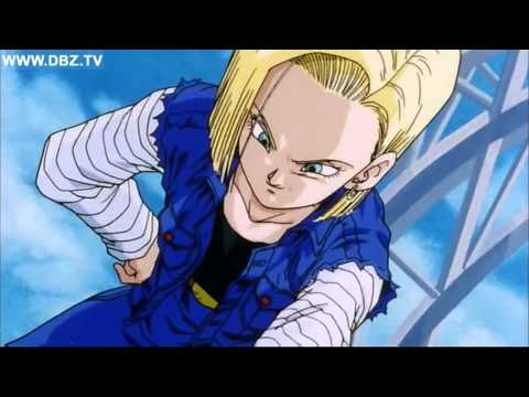 Gohan and Teen Trunks vs Android 17 and Android 18 ( Dragon Ball Z Movie)