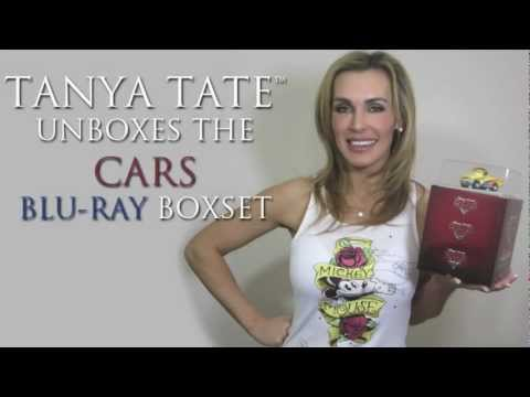 TANYA TATE™ Unboxes Disney's Cars Director's Edition Collector's Set
