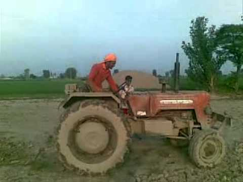 Tractor Stunts video