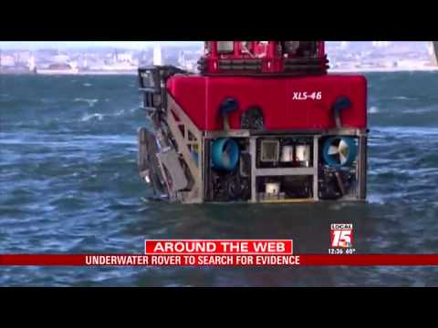 Underwater Rover Searching for Malaysian Airlines Debris