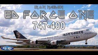 Ed Force One 747-400 - Brasília  ((Very Close))