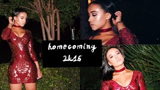 GRWM: Homecoming 2k16 | My Senior Slayyyyyyy