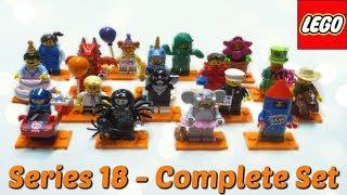 LEGO Series 18 Minifigures - Full Set & BUMP Codes!