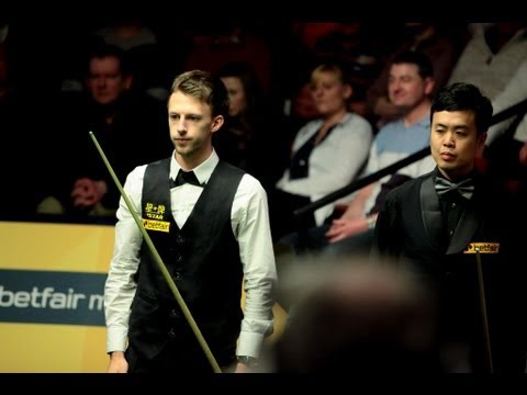 Judd Trump vs. Marco FU last session World Snooker Championship 2013
