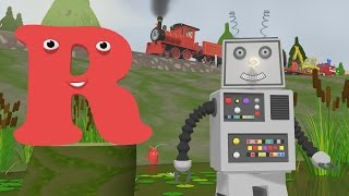Learn about the Letter R - The Alphabet Adventure With Alice And Shawn The Train