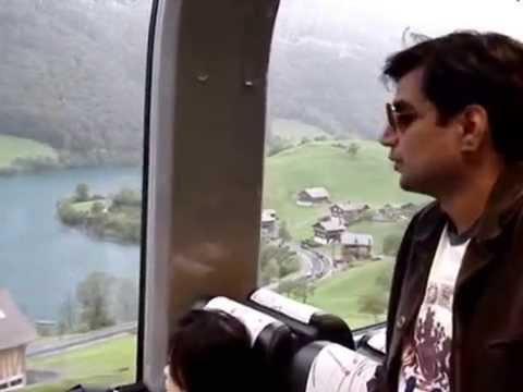 Switzerland - Golden Pass Train Journey from Interlaken to Luzern
