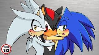 Top 10 Sonic Fan Ships - Fanfic Edition