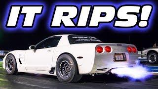 Taming the Unicorn C5 Corvette - HOLY SH*T ITS FAST!