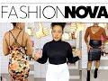 My first Fashionnova Try- On haul!!! + FN X Cardi B