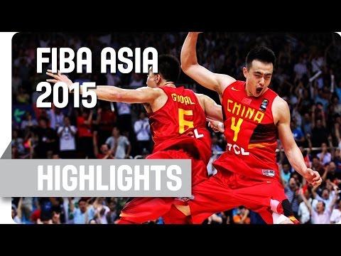 Korea v China - Group C - Game Highlights - 2015 FIBA Asia Championship
