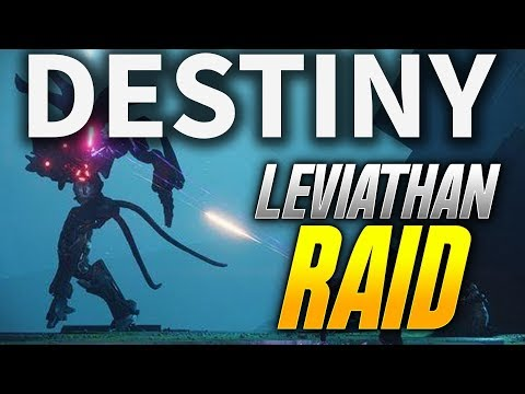 Destiny 2: WORLDS FIRST LEVIATHAN RAID ATTEMPT! (Destiny 2 Leviathan Raid Gameplay)