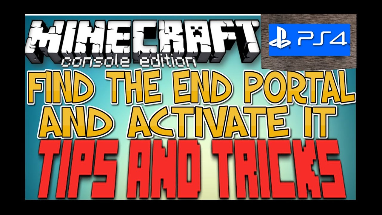 how to use an end portal in minecraft ps3