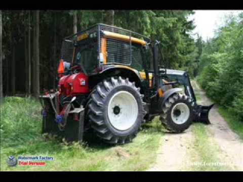 VALTRA in forest