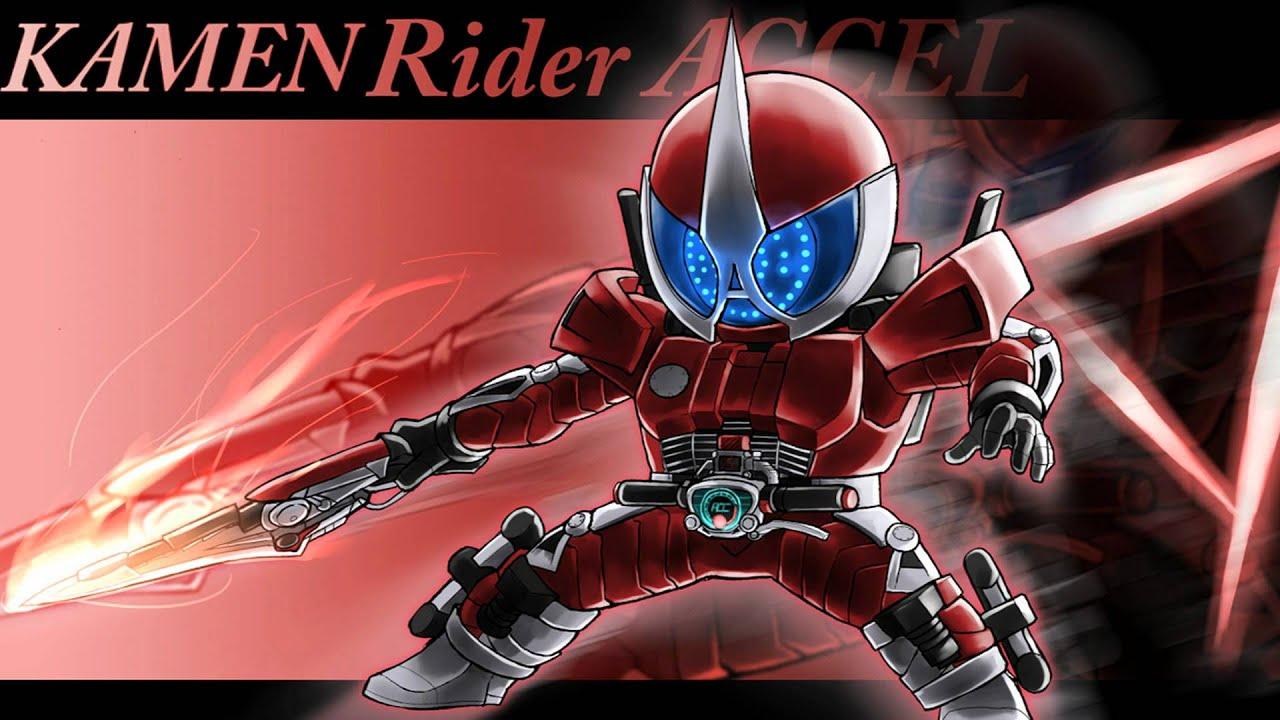 Kamen Rider Accel Logo Kamen Rider w Accel Dash