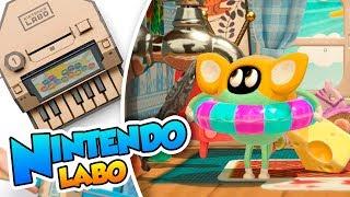 ¡La casa de los minijuegos! - Nintendo Labo (Switch) DSimphony