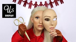 "Us Makeup & COSPLAY Tutorial ""The Tethered"""