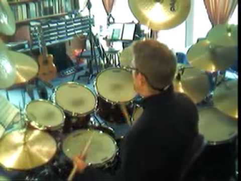 Left Hand Open Hi-Hat Technique