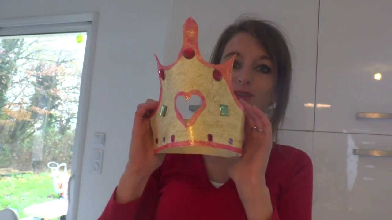 Couronne de princesse a faire soi m me youtube - Deguisement princesse a faire soi meme ...