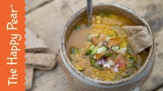 Red Lentil Dahl - SUPERTASTY Lentil Recipe! Healthy Indian Food