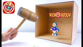 How To Make Kick The Buddy Game From Cardboard