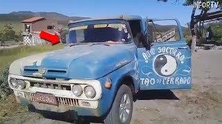Parece una vieja camioneta pero CUANDO VEAS EL INTERIOR no podrás creerlo