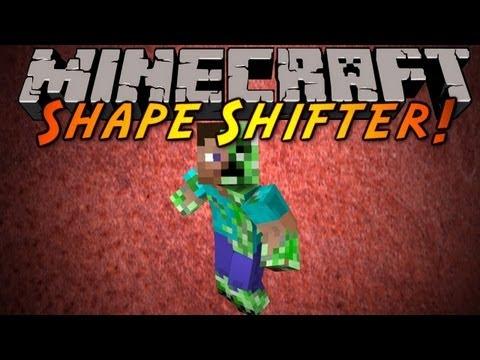 Обзор мода minecraft Стань МОБОМ (Shape Shifter Z) №56