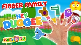 #fingerfamilysong #squirrelssong Hey duggee finger family 🖐🎵 Songs for babies, Party music kids