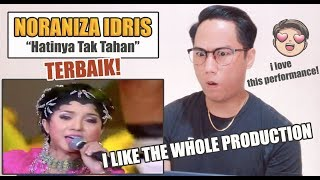 Noraniza Idris - Hatinya Tak Tahan Live In AJL 2004   REACTION